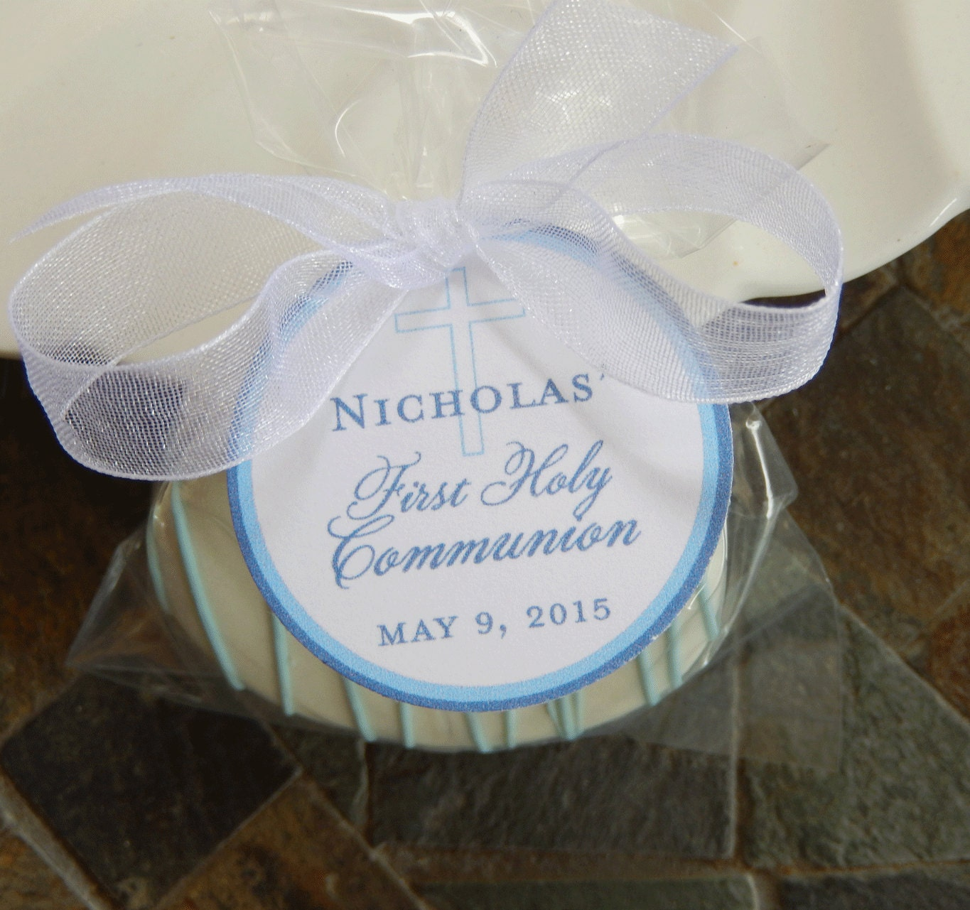 40 First Holy Communion Custom small 1.5 Thank You