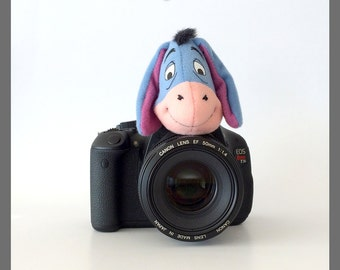Photography Accessories, Camera Lens Accessories, Kids/Children Photography Prop, Eeyore Gifts, Gift for New Mom/Dad/Parents, Eeyore Nursery