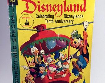 Gold Key: Walt Disney's Vacation in Disneyland - Disneyland Special!