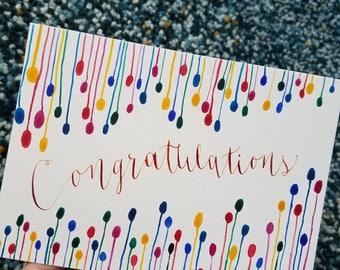 Colorful Congratulations