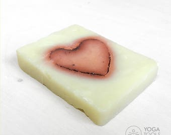 Handmade soap organic Heart, 50g, hand made, natural