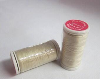 Thread Beige 100% polyester 200 m