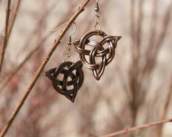 Celtic Knot Earrings, Irish Earrings, Viking Earrings