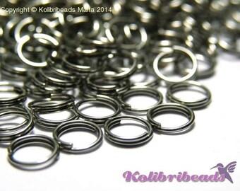 Stainless Steel Split Rings 5 mm - Nickel Free (100 pc.)