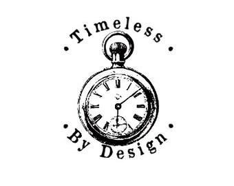 Pocket Watch custom rubber stamp