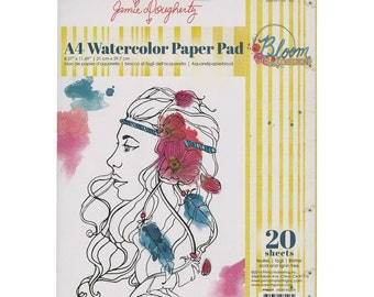 Prima Marketing - Bloom A4 Paper Pad 20/Sheets - Jamie Dougherty