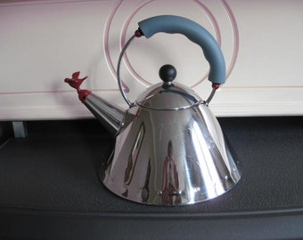 ALESSI bird kettle designed by Michael Graves.