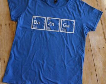 The Big Bang Theory - Bazinga - Periodic Table of Elements shirt
