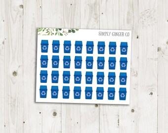 Recycling Bin Stickers  - ECLP Sticker