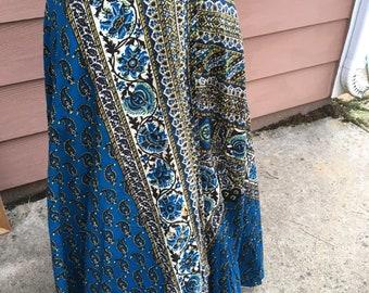 Hippie wraparound skirt