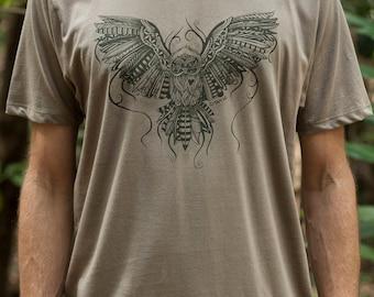 Male Fair Wear and Organic T-Shirt - Owl Love
