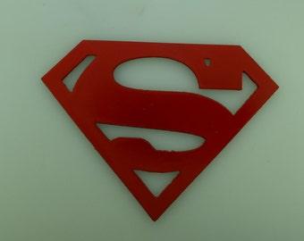 Metal Art Superman Logo