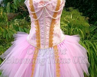 ADULT Pink Princess Handmade Tutu Dress-Birthday, Party, Pageant, Fancy Dress