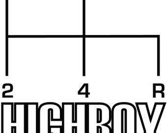Ford Highboy- Die Cut Vinyl