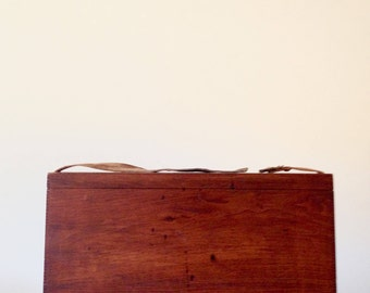 Antique Military / Aviation Wood Tool Box - Circa 1909
