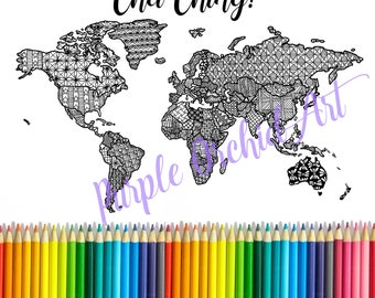 Cha ching map etsy printable etsy sales mapsales trackercoloring pagecoloring mapetsy salescha chingworld map printableadult coloring pagegoal tracker gumiabroncs Gallery