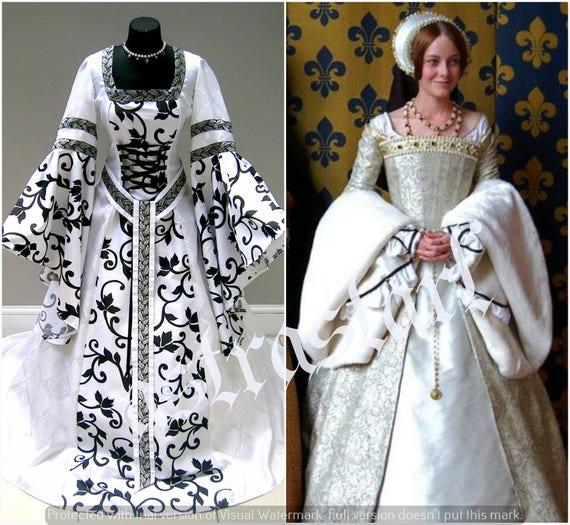 MITTELALTERLICHE Hochzeit Kleid Kostüm S-M 12.10.14 Halloween