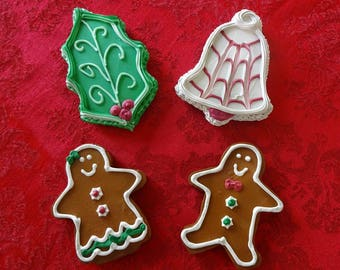 4 Pc. Holly Jolly Cookie Set