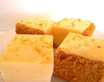 Julie's Fudge - LEMON CHEESECAKE With Graham Cracker Crust - Over Half Pound