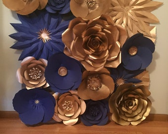Large Paper Flower Wall/Backdrop - Customize your Order!!!