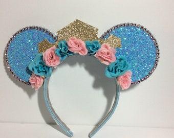 Sleeping Beauty Mickey Ears Make it Blue Edition