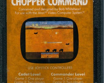 Atari 2600 Chopper Command Game Cartridge