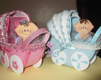 Strollers for baptism or baby Shower