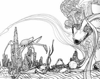 All Underwater (Print)