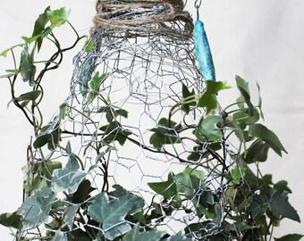 Our Lady of the Ivy- papier-mâché art doll ooak