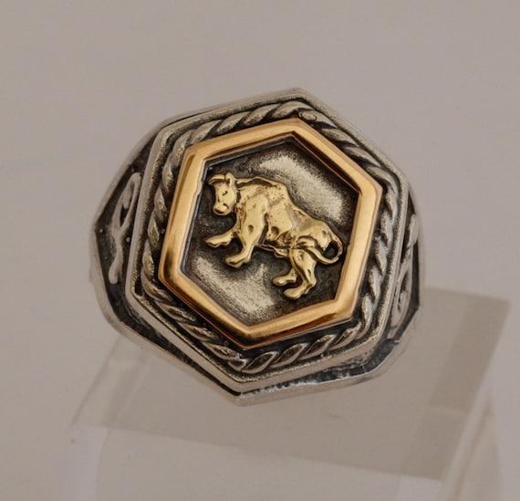Zodiac Signet Ring