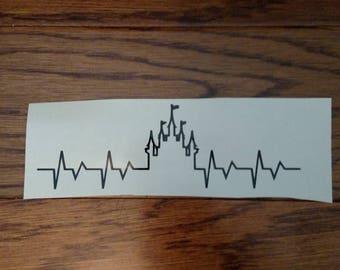 Disney Castle Heartbeat