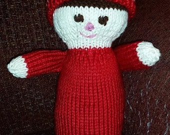 Knitted Baby Doll -