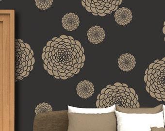 Reusable Flower stencil - 18, DIY home decor