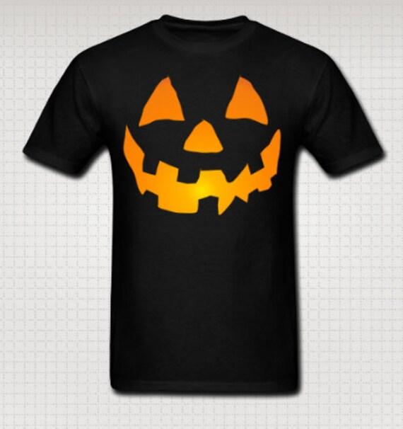 Jack-o-Lantern Pumpkin Halloween Tee