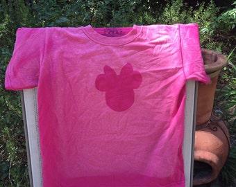 Minnie Mouse - Inspired Bleach Art Shirt