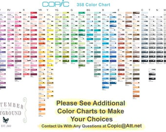 Copic - SKETCH Markers  - YOUR CHOICE of 6 Colors  -  Pay for 5, Get 1 Free - In Stock