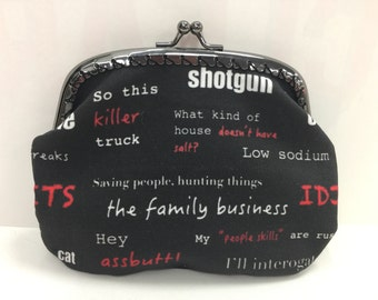 Large Supernatural Coin Purse