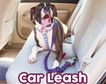 Car Leash - Seatbelt Leash keeps dogs and yourself safe while driving