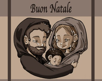 Merry Christmas Holy Family