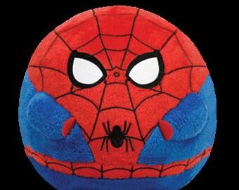 Ty Beanie Ballz Spiderman Plush by TY Beanie Ballz 38031