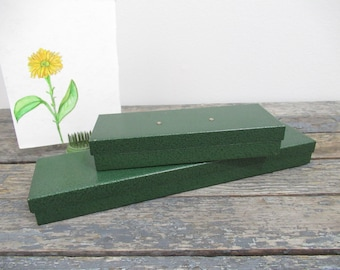 Metal Pencil Case, Vintage Metal Box, Art Supply Storage, Stash Box, Small Parts Storage, Old Metal Box