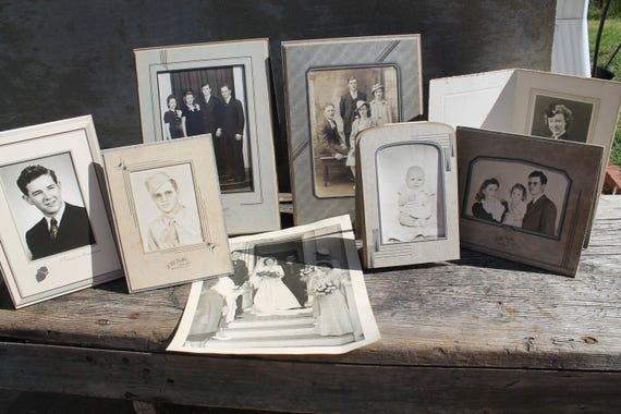 Antique Folding Cardboard Frame, Art Deco Frames, Photograph Circa ...
