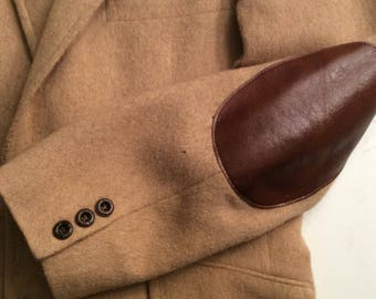 Men's Vintage 1070's Camel Hair Soortscoat