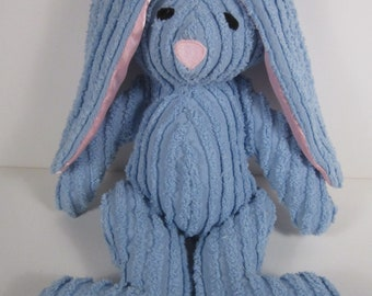 Babys First Soft Toy Chenille Bunny