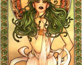 A3 Medusa Poster