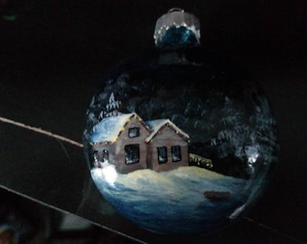 Sold Out * Hand-painted Christmas Ornaments