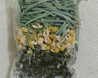 Organic Herbal Bath Tea Soak to Treat Stress and Anxiety