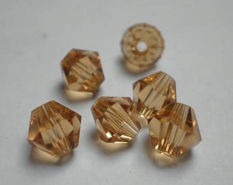 5 6 mm topaz crystal bicones