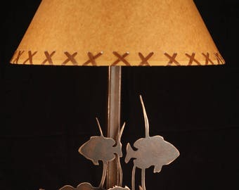 Rustic lamp shade etsy free shipping buy 2 shades and save 16oilcraft laced shade lodge aloadofball Gallery