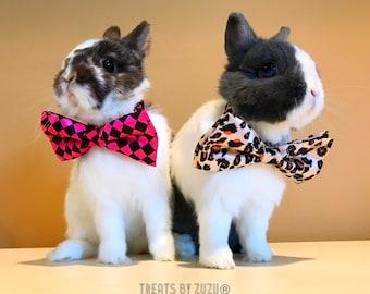 Bunny Bow Tie! Rabbit Bow Tie! Bow Tie for Bunnies! Bow Tie For Rabbits! Rabbit Accessory! Rabbit Clothing! Rabbit Bows! Bunny Bows! Spring